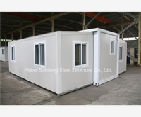 Decorated Friendly Bali expandable container homes light steel prefabricated modular home