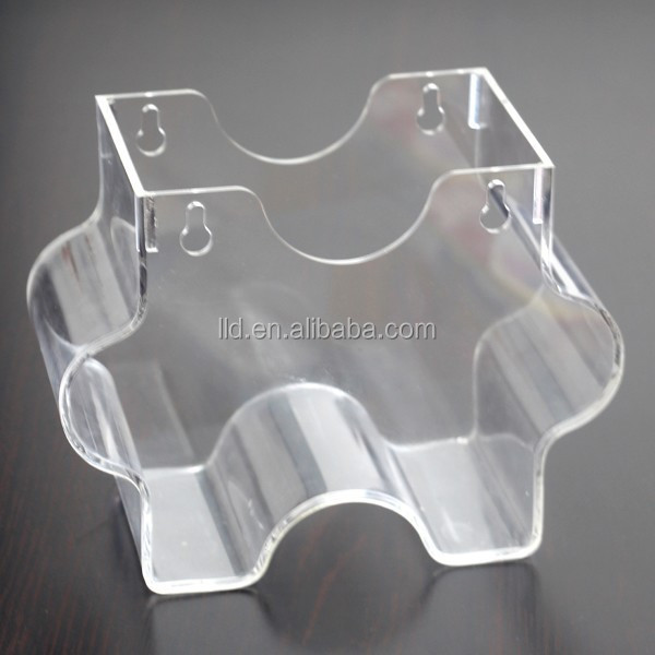 708004 2015 hot sale and manufacture flower shape transparent hanging acrylic fish tank