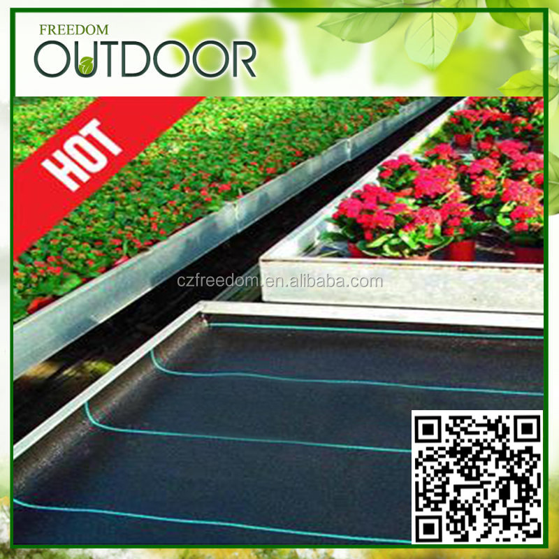 garden membrane uv treated black weed barrier fabric