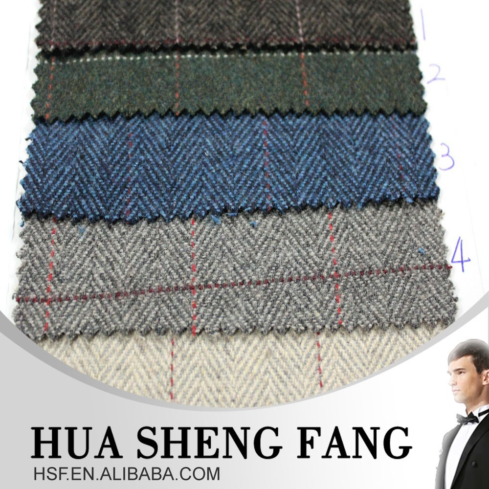 Guangzhou China New Products 2016 Fabric And Textile Tweed Cloth