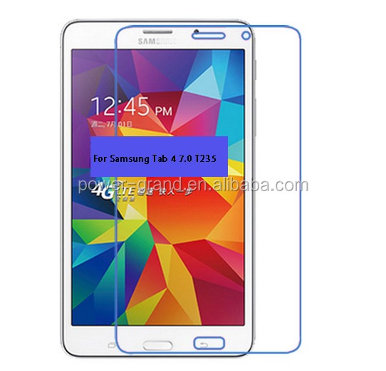 Wholesale Flexible PET Screen protector film for Samsung Galaxy Tab 4 7.0 T235 SM-T235