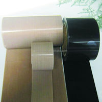 Thick High Temperature Resistance 0.35mm Thick PTFE Coated Fiberglass Fabric use as Conveyor Belt