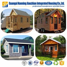 Beautiful prefab house designs ,high quality prefabricated log cabin and bungalow