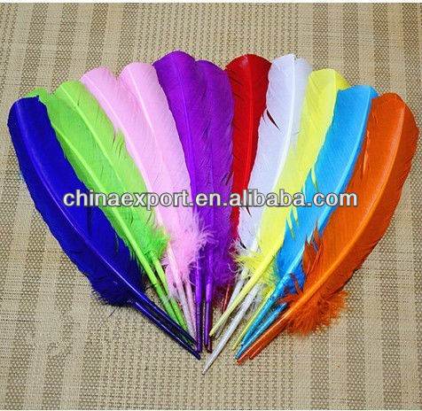 Big Colored Duck Feather For Sale 30cm