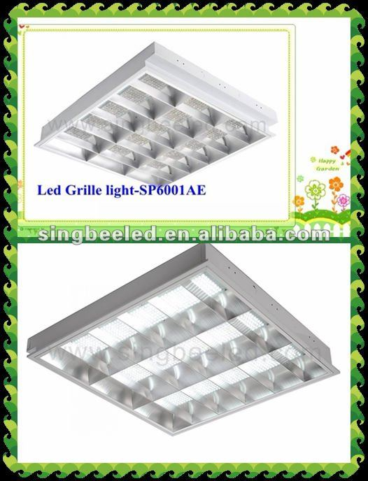 best sale 35W led office grid lighting CE/RoHS dialux IES