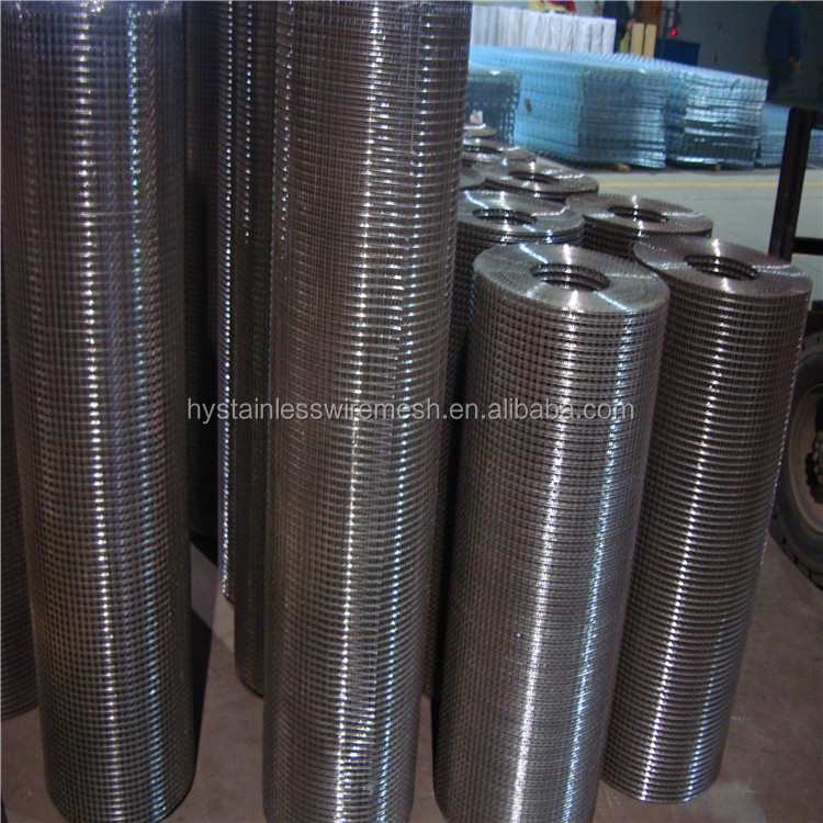 hot sale burr-free Strong wear-resisting stainless steel pvc welded wire mesh