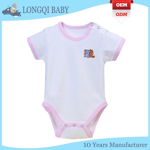 PF-MS-027 reliable factory wholesale baby girls romper