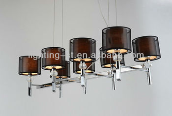 Hotel fabric chandelier lighting