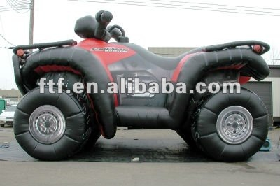 Absolute eye-catching advertising inflatable car