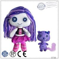 High quality custom plush dolls korean toys for children