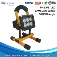 CE SAA 50W 30W 20W 10W rechargeable led flood light