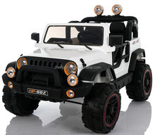 Newest Jeep 12V Battery Powered 4X4 Kids Ride On Car 2 Seat Powerful Wheels Children Electric Ride On Toys