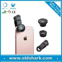 Smartphone hottest promotional gift 3 in 1 mobile phone cover lens,christmas gift,accessories for mobile phone camera lens