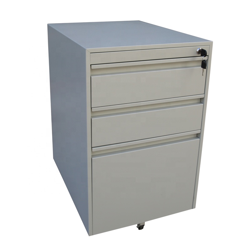 Color Variable Office fuinitrue Equipment for A4 File Cabinet 2 Drawer Mobile Pedestal cabinet