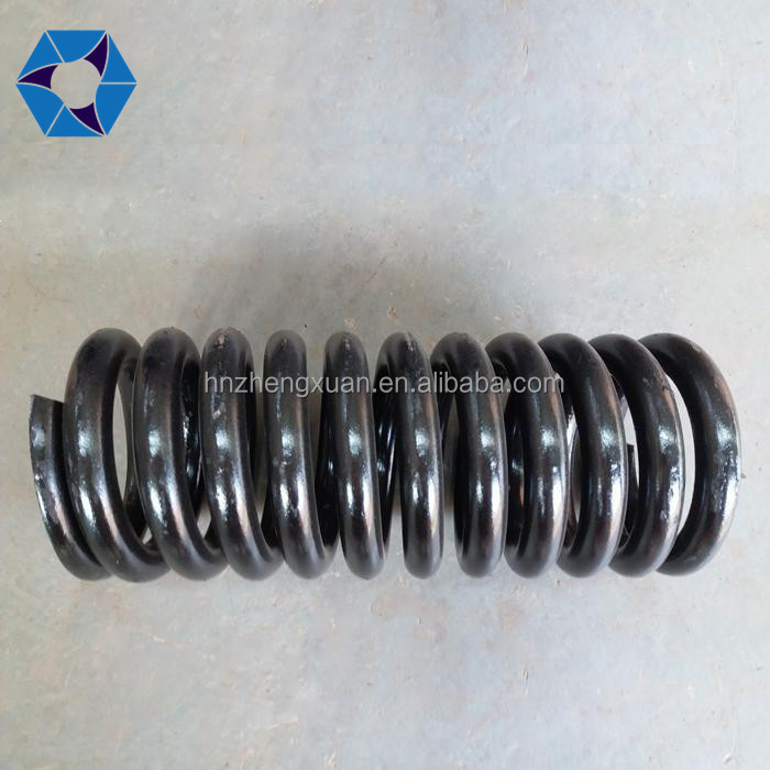 Rubber steel sheet laminated spring