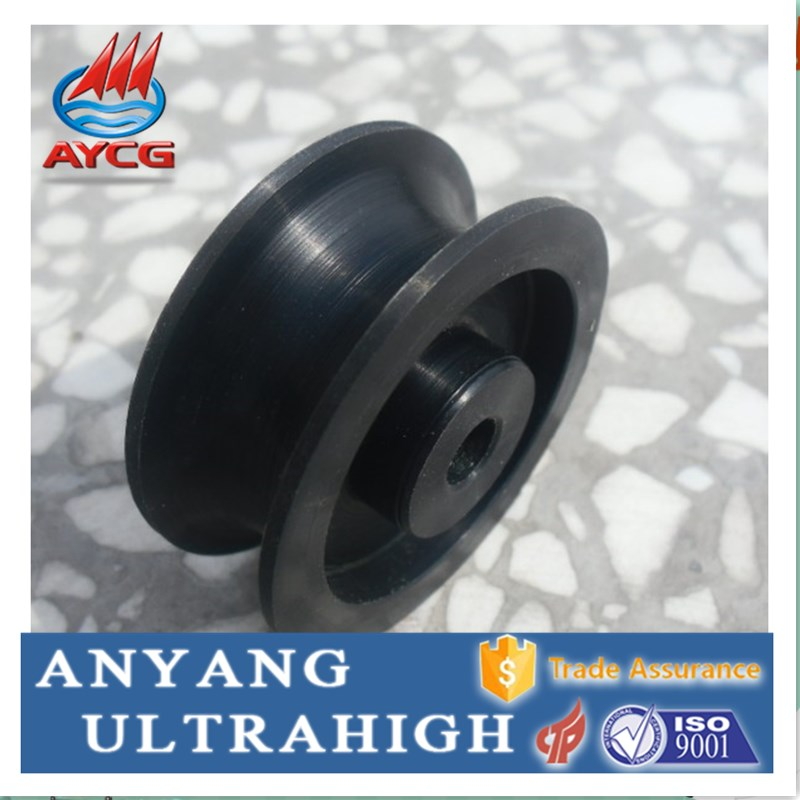 uhmw polyethylene plastic driving wheel