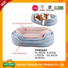 Two Ways Use Self Cooling Quilting Fabric Cute Pet Dog Cooling Bed