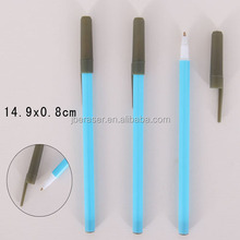 printed logo cheap plastic disposable ballpoint pen