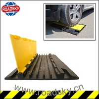 PVC Cover Rubber Base Cable Protection Ramps Price
