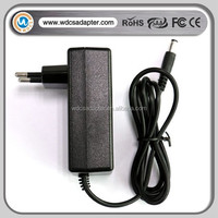 Desktop AC/DC power adapter 12V 1A 2A output applicated in CCTV camera and Routers