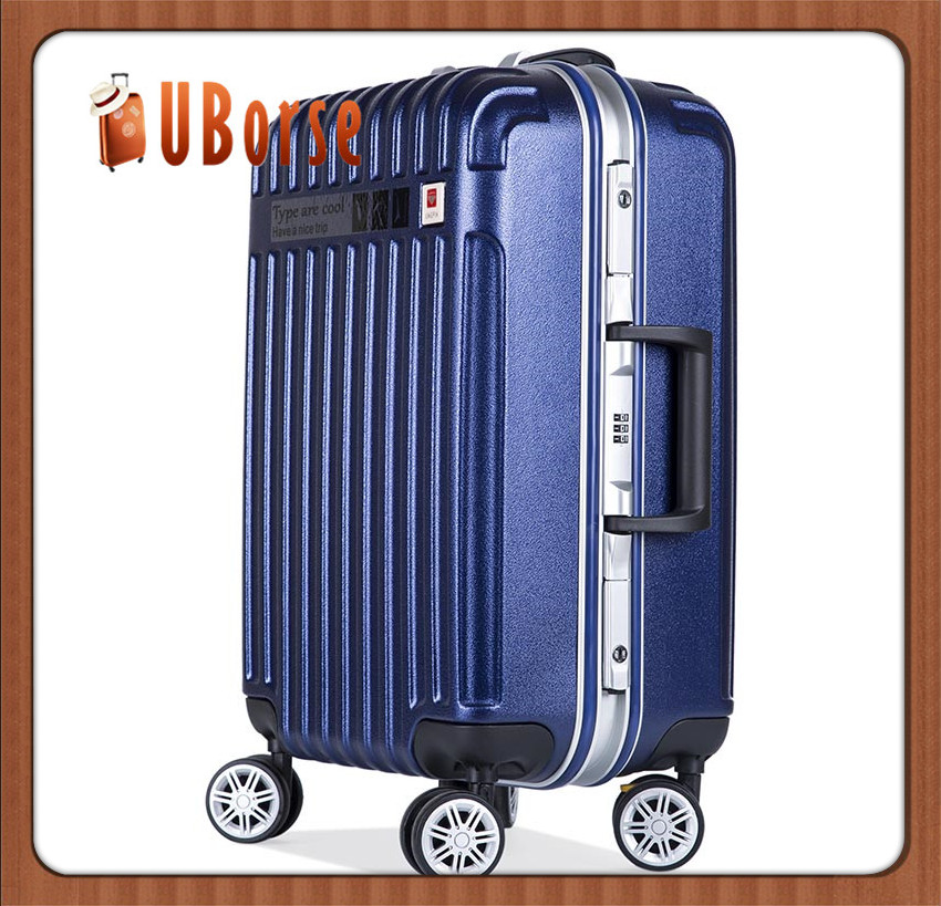 ABS+PC Unisex Lightweight Travel Urban Airport Suitcases Luggage
