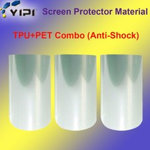 Screen protector PET Anti-shatter Raw Material Transparency Film, Clear PET Screen Protector Roll Material/