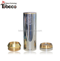 High quality tobeco best price mech mod 2 top caps 22mm/30mm chi you megan