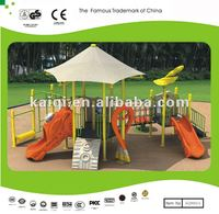 Commercial Playground with Slides Rhyme of Sea Sailing Series-big roof