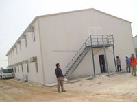 China Manufacturers Prefabricated Homes steel structure prefab houses