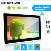 15.6 inch Android tablet Wifi bluetooth touch screen function lcd monitor