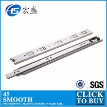 Full Extension Ball Bearing Drawer Slide Telescopic Channel