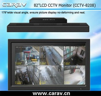 82'' industrial lcd monitor with metal housing