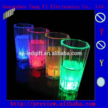 Flash small glass led flashing cup