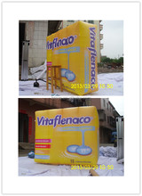Promotional inflatable box model, inflatable box replica, giant inflatable model