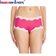 Women underwear tanga soft lady boyshorts girl low waist panties sexy