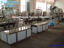 2000-4000bph small businss washing filling capping inline plastic bottle mineral water making machine