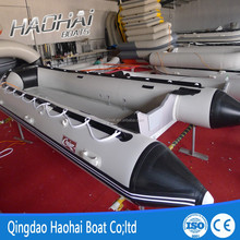 4.3m air deck floor inflatable boat for sale
