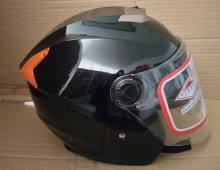 2018 newly design cheap price open face helmet for motorcycle