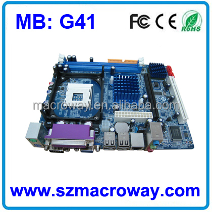Factory Price mobile phone motherboard G41 775 for computers