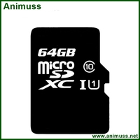 Free sample 80(MB/S)class 4 class 10 64GB digital camera Flash SD card TF memory card for Kingston for android mobile phone