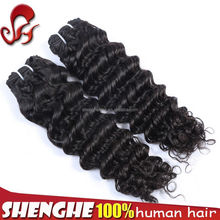 cheap virgin peruvian 22 inch human hair weave extension on sale