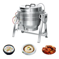 XYGT-500 Industrial soup cooking pots, commercial oil boiling tilting kettles