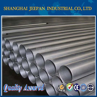double wall 202 grade 2b finished stainless steel pipe welding used in machine