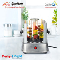 Rotating automatic bbq machine, home electric kebab grill machine