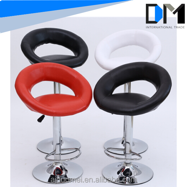 wholesale modern swivel white leather bar stools on alibaba used bar chair in bar furniture for sale buy leather bar bar - White Leather Bar Stools