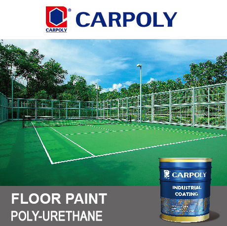 Carpoly Polyurethane Floor Paint Top Coat, B6200 Floor paint