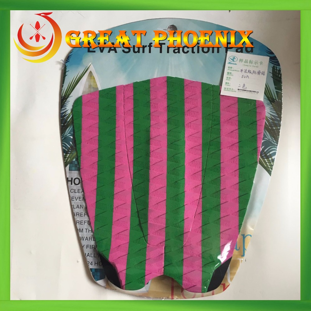 Hot selling surfboard EVA traction deck pad