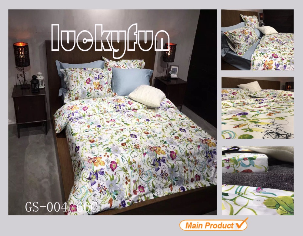 High Quality Cotton Fabrics Bedding Sets Cotton Home