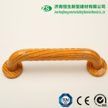 High Quality Bathroom Wood Grab Bar with Steel Substrate