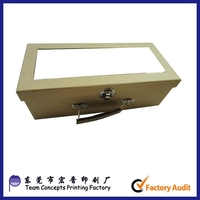 Good Quality Fancy Paper Printing PVC Shoe Clear Box